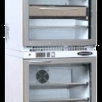 Armoire réfrigérée double vitrée blanc
